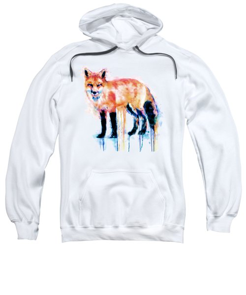 Fox  Sweatshirt by Marian Voicu
