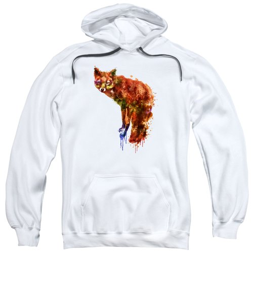 Foxy Lady Watercolor Sweatshirt