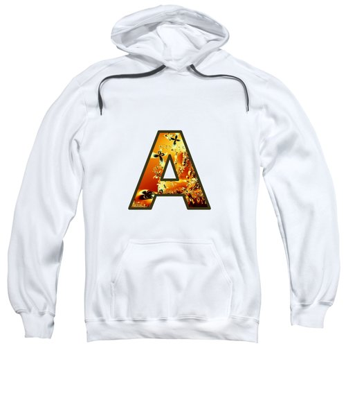 Fractal - Alphabet - A Is For Abstract Sweatshirt