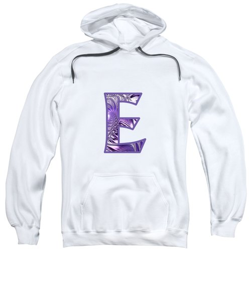 Fractal - Alphabet - E Is For Elegance Sweatshirt