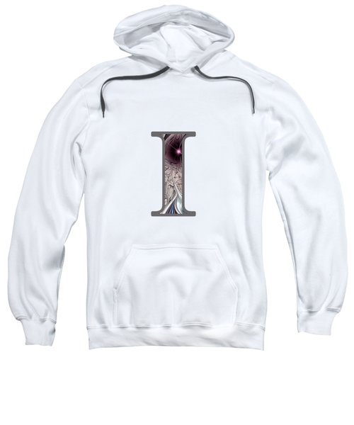 Fractal - Alphabet - I Is For Illusion Sweatshirt