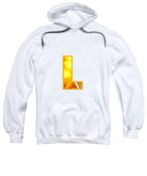 Fractal - Alphabet - L Is For Light Sweatshirt