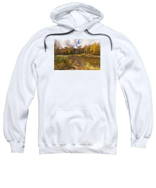 Sweatshirt featuring the photograph Franconia Iron Works by Anthony Baatz