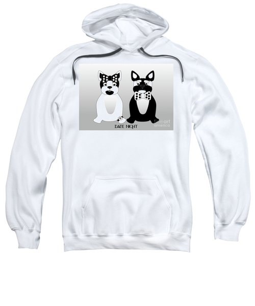 French Bulldog Date Night  Sweatshirt