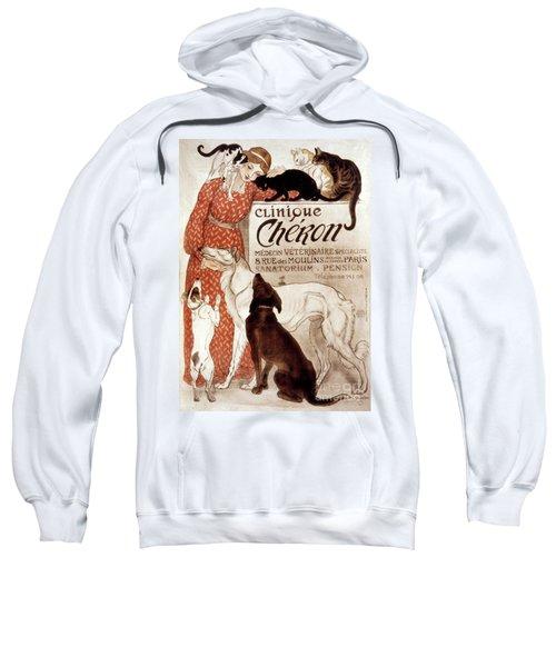 French Veterinary Clinic Sweatshirt