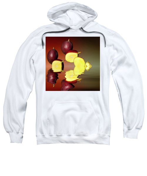 Fresh Ripe Mango Fruits Sweatshirt by David French