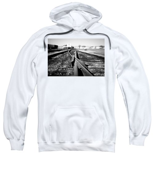Sweatshirt featuring the photograph Frog by Stephen Holst