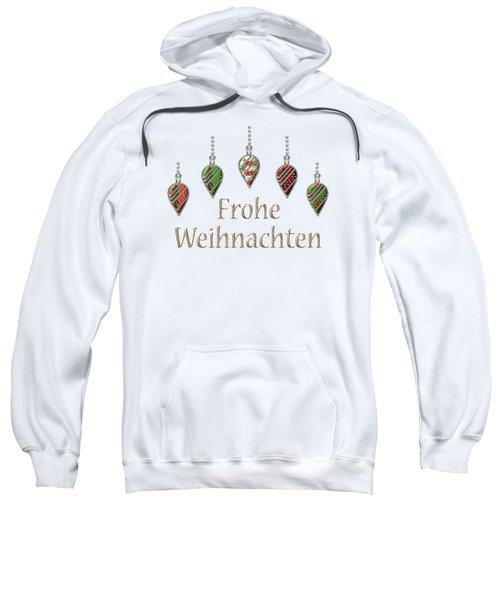 Frohe Weihnachten German Merry Christmas Sweatshirt