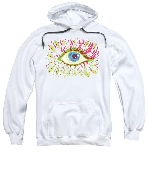 From Looking Psychedelic Eye Sweatshirt