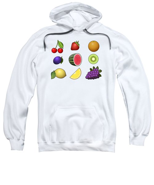 Fruits Collection Sweatshirt by Miroslav Nemecek