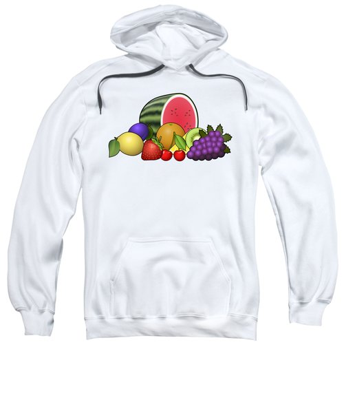 Fruits Heap Sweatshirt by Miroslav Nemecek