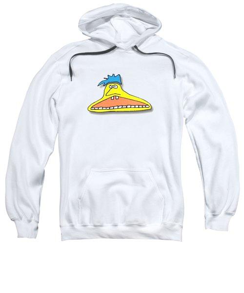 Fu Party People - Peep 026 Sweatshirt by Dar Freeland