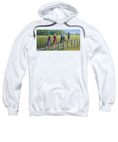 Girls Can To Sweatshirt