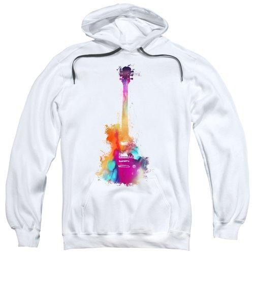 Funky Colored Guitar Sweatshirt