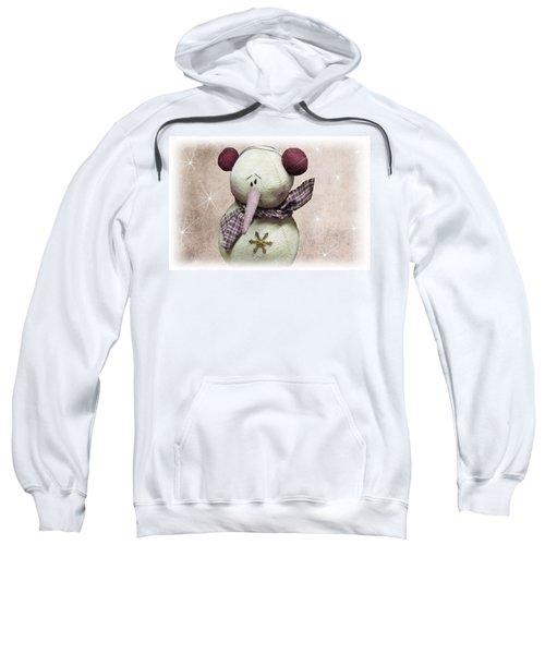 Fuzzy The Snowman Sweatshirt