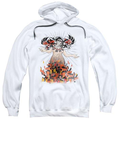 Gaia In Turmoil Sweatshirt by Sassan Filsoof