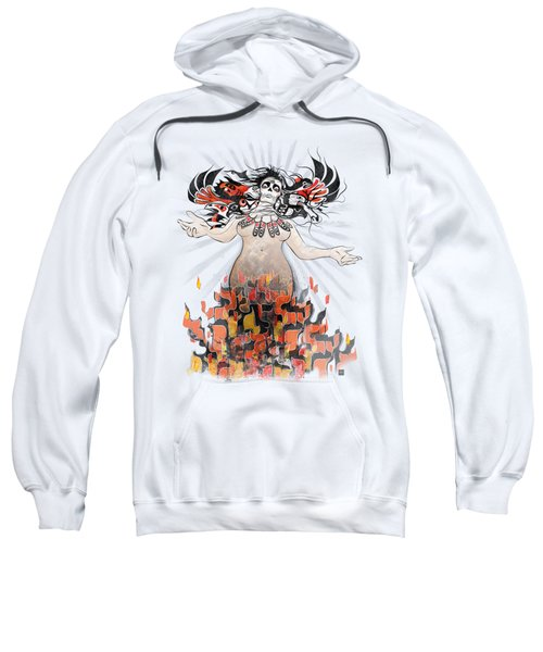 Gaia In Turmoil Sweatshirt