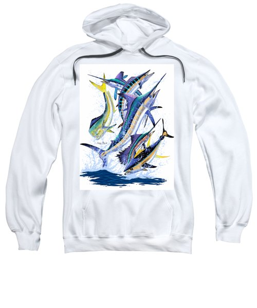 Gamefish Digital Sweatshirt by Carey Chen