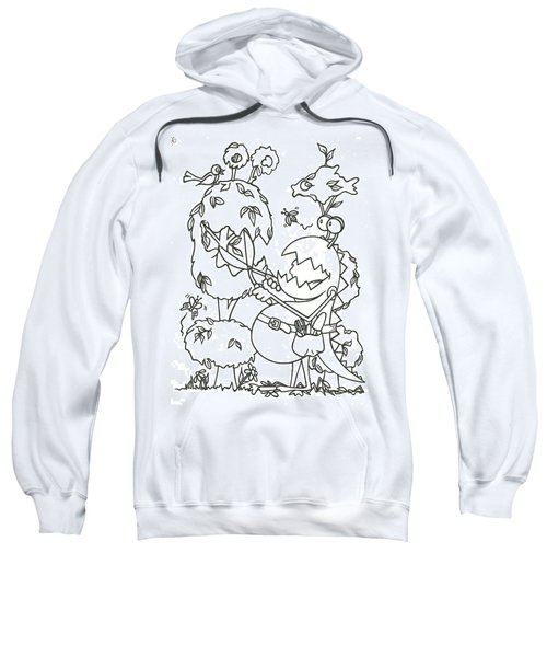 Gardening Monster Sweatshirt