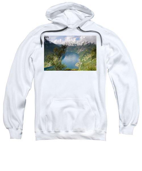 Geirangerfjord With Birch Sweatshirt