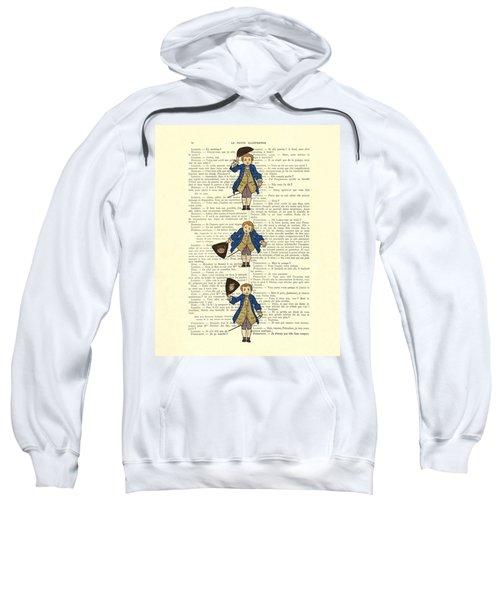 Gentlemen Taking A Bow Dressed As Napoleon Bonaparte Sweatshirt