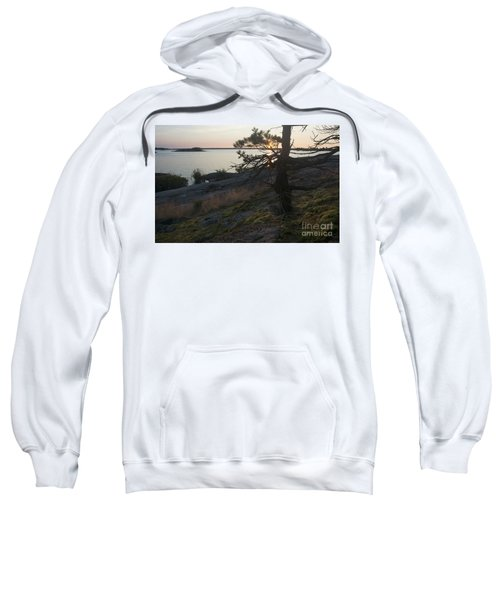 Georgian Bay Sunrise-moss 4253 Sweatshirt