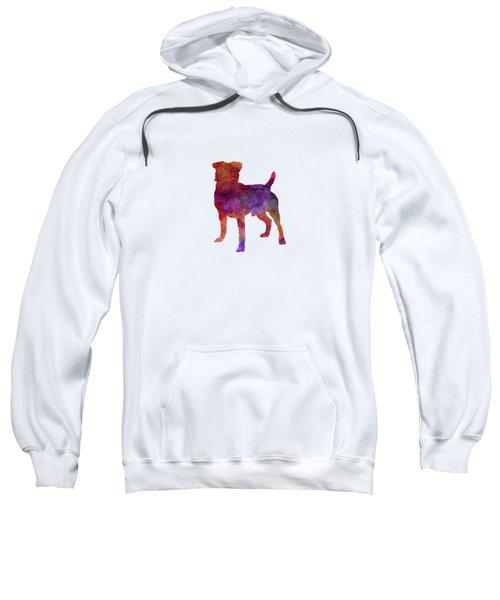 German Hunting Terrier In Watercolor Sweatshirt