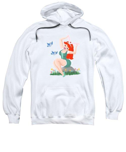 Getting Ready For Spring Sweatshirt