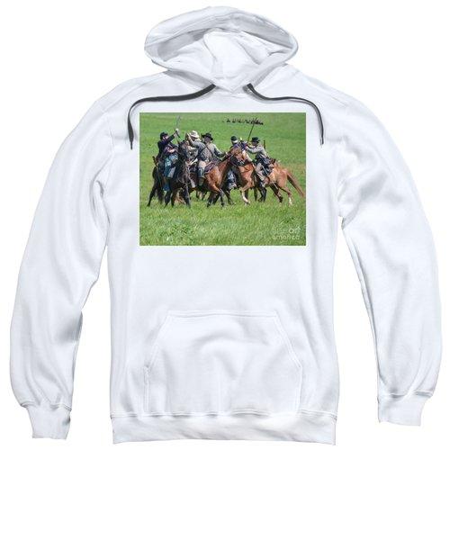 Gettysburg Cavalry Battle 7948c  Sweatshirt