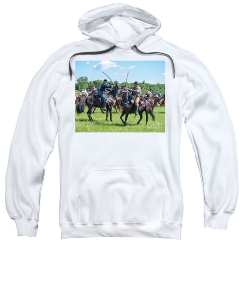 Gettysburg Cavalry Battle 7978c  Sweatshirt