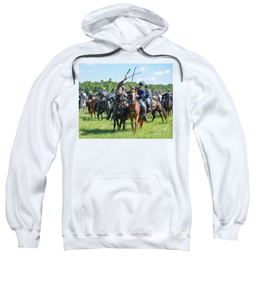 Gettysburg Cavalry Battle 7992c  Sweatshirt