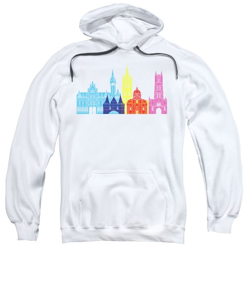 Ghent Skyline Pop Sweatshirt