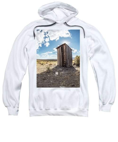 Ghost Town Outhouse Sweatshirt