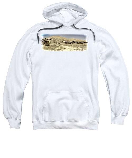 Ghost Town Textured Sweatshirt