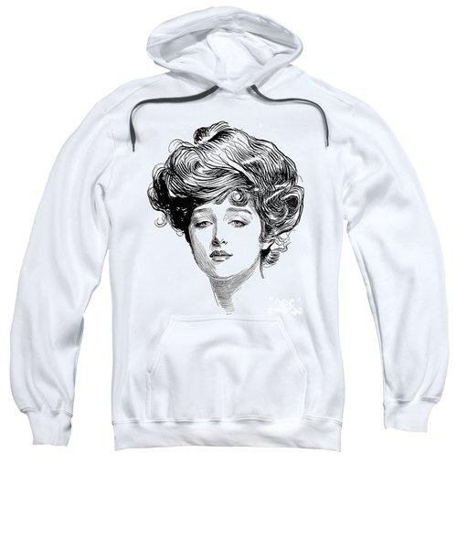 Gibson Girl, 1900 Sweatshirt