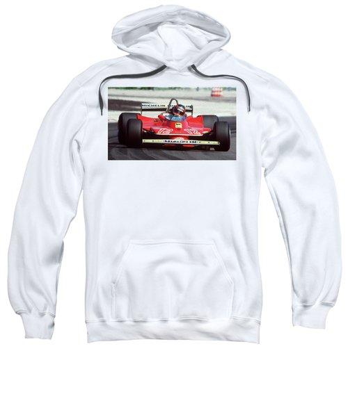 Gilles Villeneuve, Ferrari Legend - 01 Sweatshirt