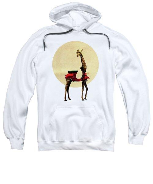 Giraffe Sweatshirt by Ali Gulec