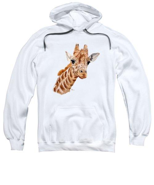 Giraffe Portrait Sweatshirt