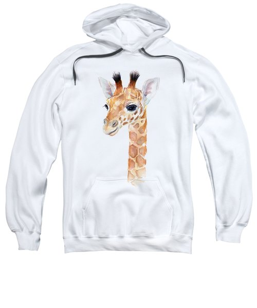 Giraffe Watercolor Sweatshirt