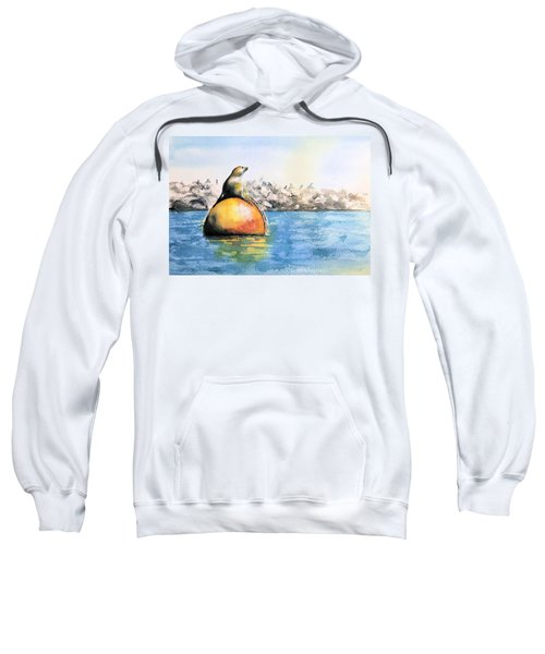 Girl And Buoy Sweatshirt