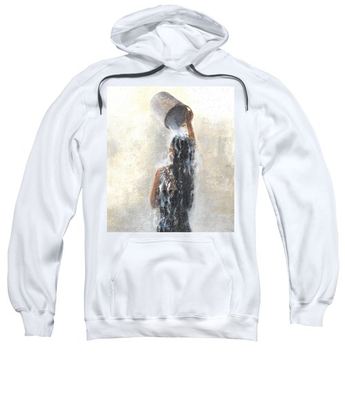 Girl Showering Sweatshirt
