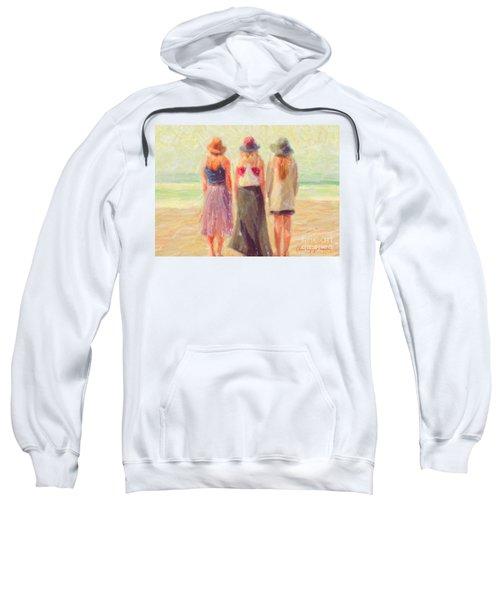 Girlfriends At The Beach Sweatshirt
