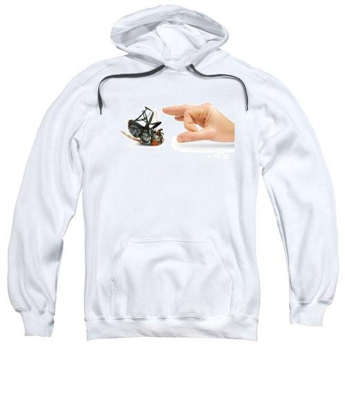 Give Pests The Flick Sweatshirt