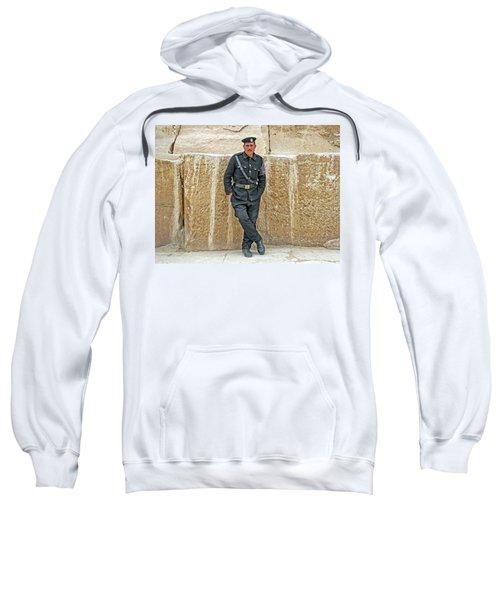 Giza Pyramids Tourist Police Sweatshirt