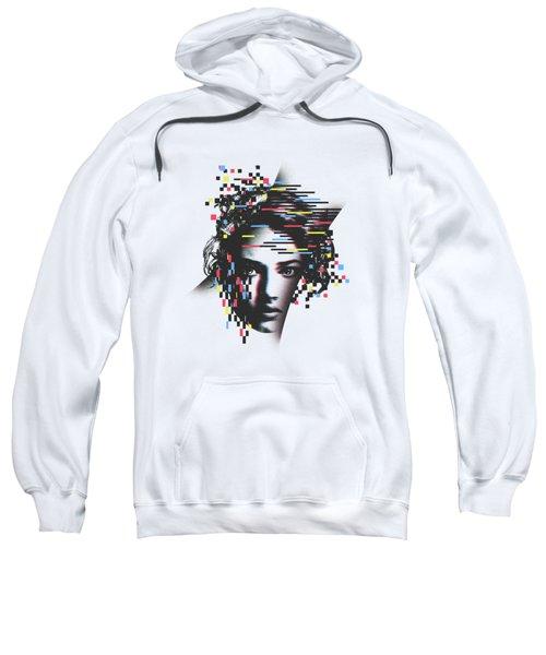 Glitch Woman Sweatshirt