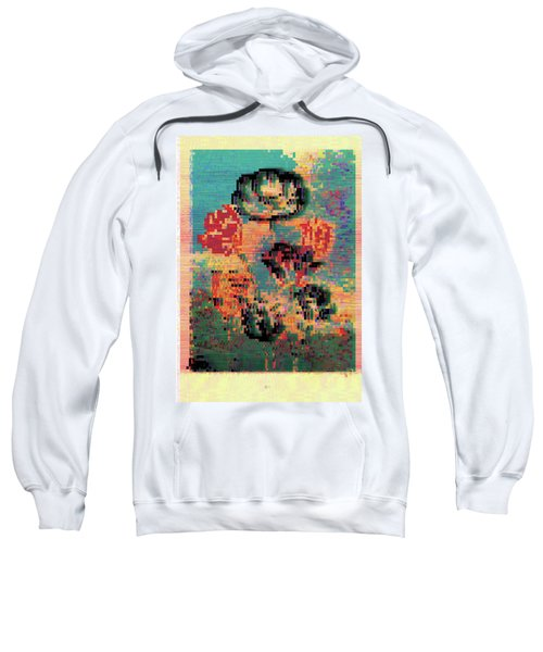 Glitched Tulips Sweatshirt