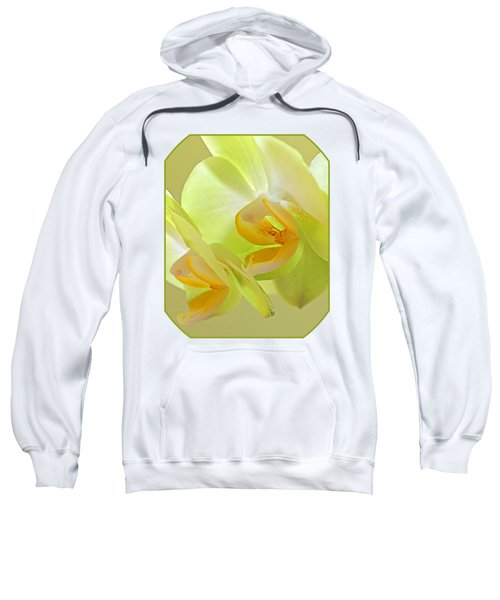 Glowing Orchid - Lemon And Lime Sweatshirt by Gill Billington