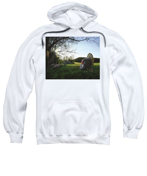 Gobbler's Morning Dance Sweatshirt