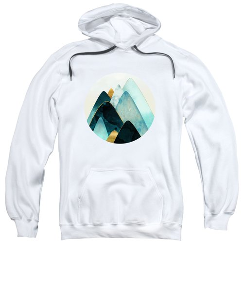 Gold And Blue Hills Sweatshirt