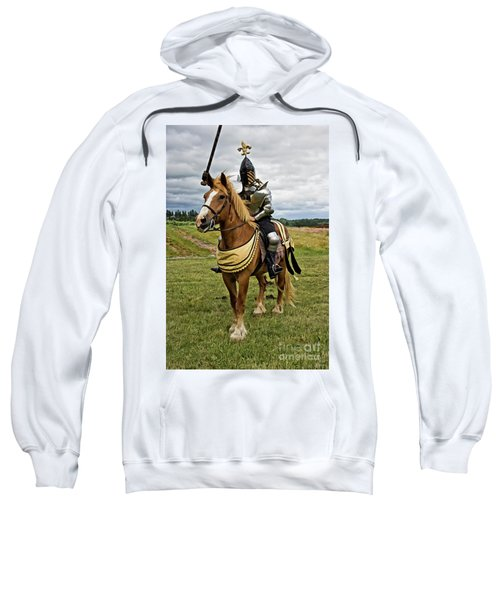 Gold And Silver Knight Sweatshirt